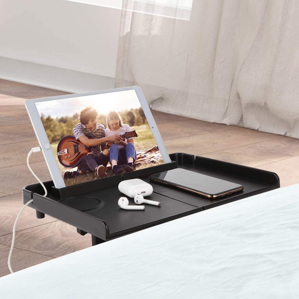 Forzaddik Floating Nightstand Bed Side Shelf Tray for Bunk Bed//Dorm//Kids Room