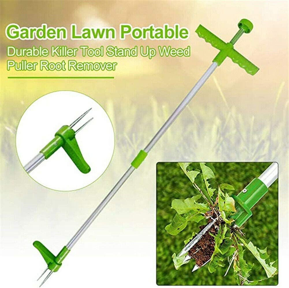 Chutoral Weed Puller Weeder Push Twist /& Pull Claw Garden Lawn Easy Root Remover Killer Grabber Long Handled Lightweight Tool