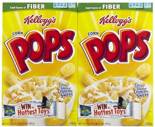 Kellogg's Corn Pops Cereal-17.2 Oz-2 ()