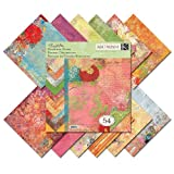 K&Company Que Sera Sera Designer 12-by-12-Inch Paper Pad