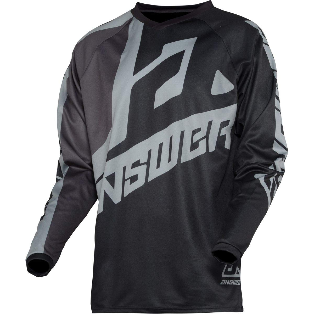 Midnight//Hyper Acid//White//Small Answer Racing A20 Syncron Voyd Youth Boys Off-Road Motorcycle Jersey