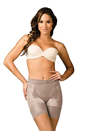 650f67d23 Sakkas Women s Bottom Lifter Panty. Abdomen and Thigh Control. at Amazon  Women s Clothing store