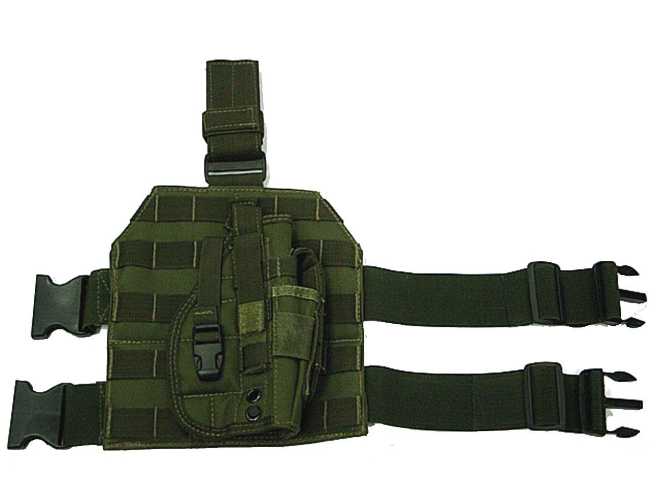 Tactical Molle 600d gota pierna pistolera Revista bolsa Holder ...