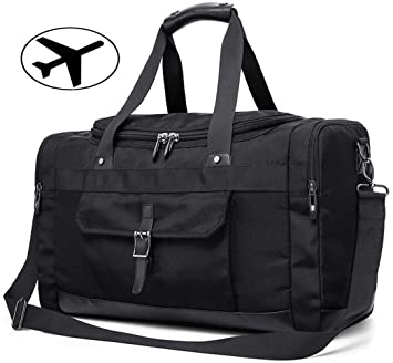 Image Unavailable. Image not available for. Color  IBEILLI Overnight Travel Bags  Leather Water Resistant Weekender Luggage Duffel d8943f91f0