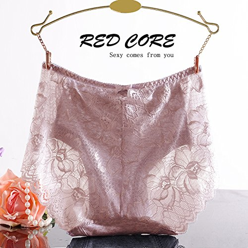 RangYR Weiche Spitze in Taille Hose Sexy 3Ecke Unterwäsche weiblich durchscheinend Visual Versuchung Temperament und Unterwäsche The Usual Zongzi Color NynQv