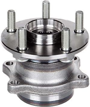 2 Rear Wheel Bearing Hub Set for 10 11 12 Subaru Forester Impreza Legacy 512401