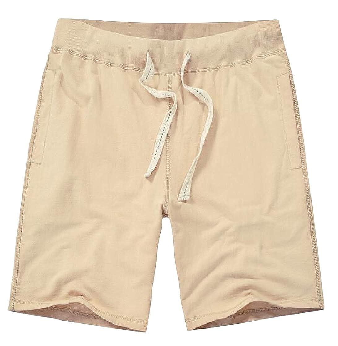 Macondoo Mens Drawstring Casual Summer Board Beach Athletic Short