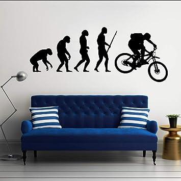 Lglays Evolución Del Hombre Arte De La Bici De Montaña Diseño ...