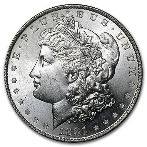 1881 S Morgan Dollar BU $1 Brilliant Uncirculated
