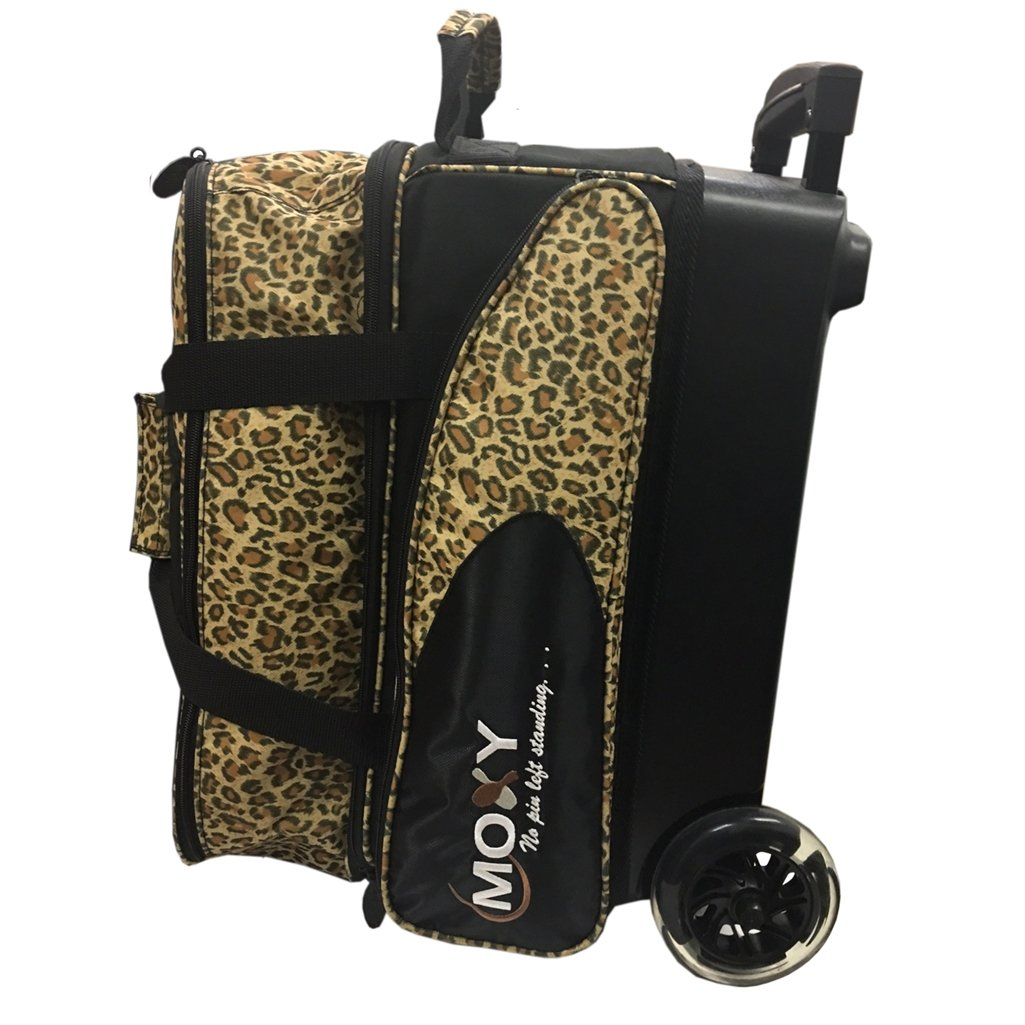 Moxy BSSTMOXY1949-1 Blade Premium Double Roller Bowling Bag, Leopard