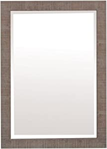 Yosemite Home Decor Yosemite Mirrors, Medium, Brown Texture