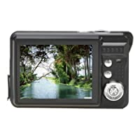 Tonsee 18 Mega Pixels CMOS 2.7 inch TFT LCD Screen HD 720P Digital Camera (Black)