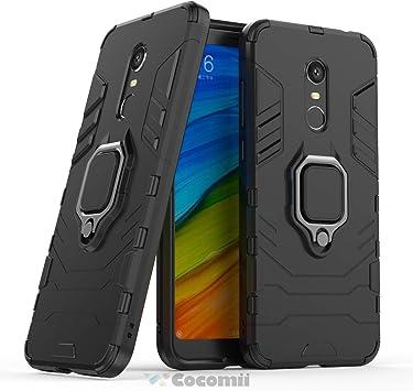 Cocomii Black Panther Armor Xiaomi Redmi Note 5/Redmi 5 Plus Funda ...
