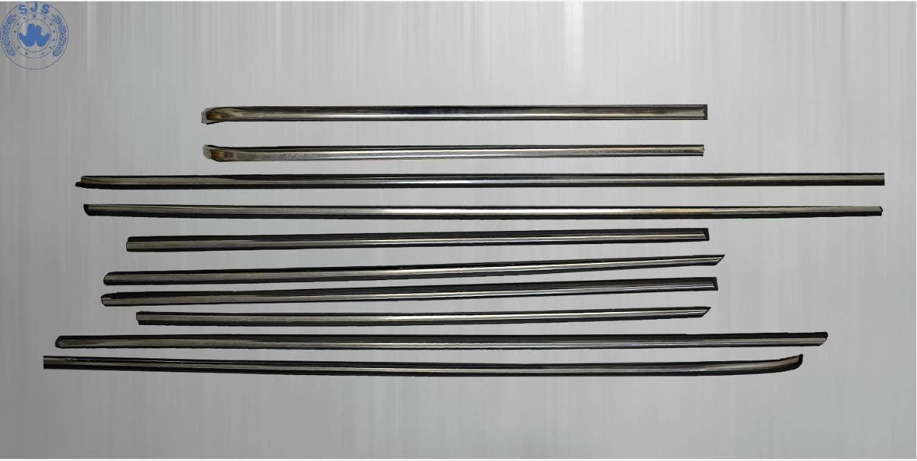 SJS CARSTYLING Zierleisten Seitenleisten passend f/ür MB W114 W115 //8 Limousine