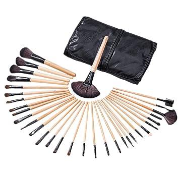 301a97038949 32pcs Professional Makeup Brushes Set, BBL Premium Cosmetic Tools  applicator Natural Synthetic...