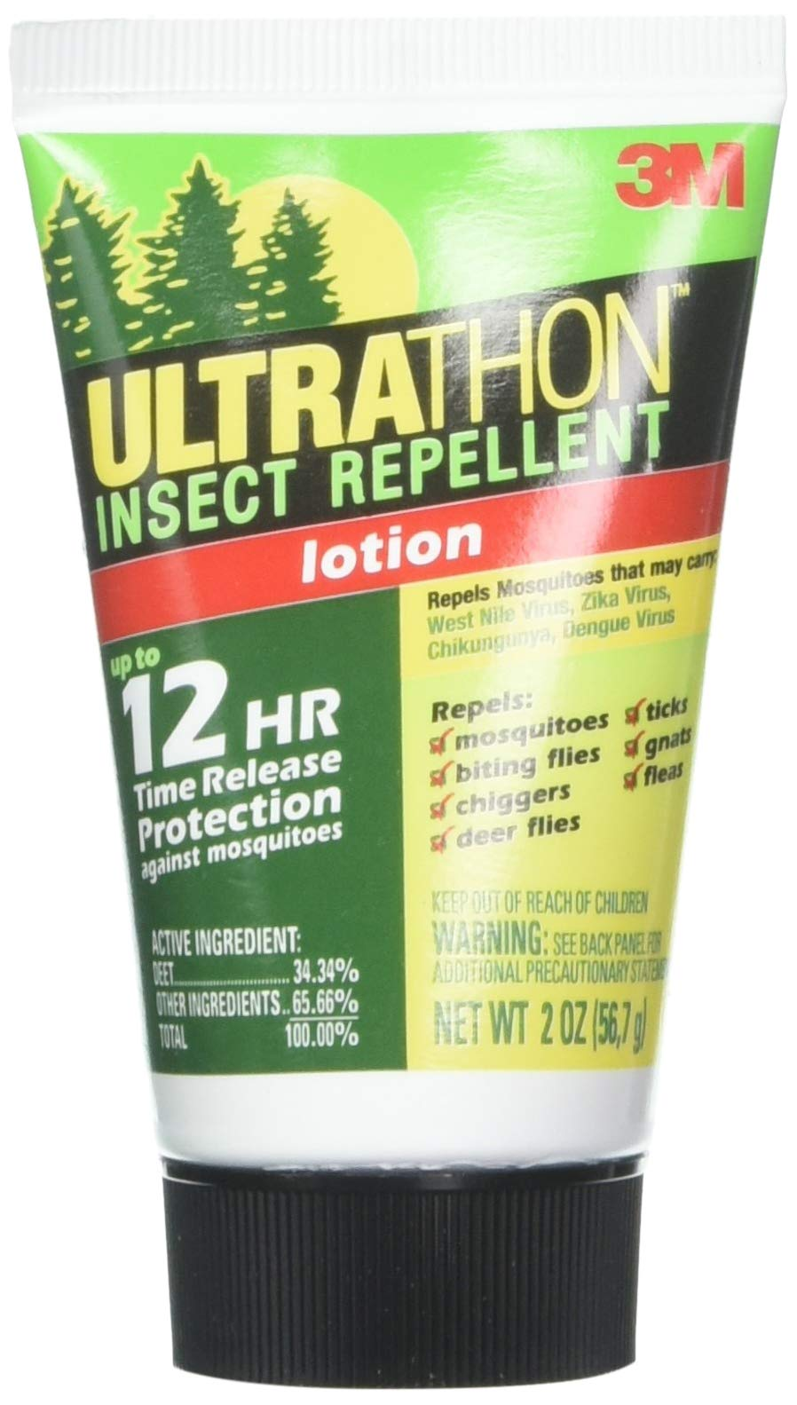 3M UltraThon Insect Repellent 2 oz (3 Pack)
