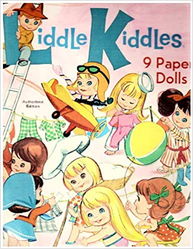 Image: Liddle Kiddles 9 Paper Dolls | Publisher: Whitman (1967)
