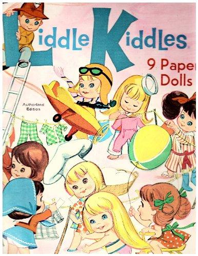 Liddle Kiddles 9 Paper Dolls