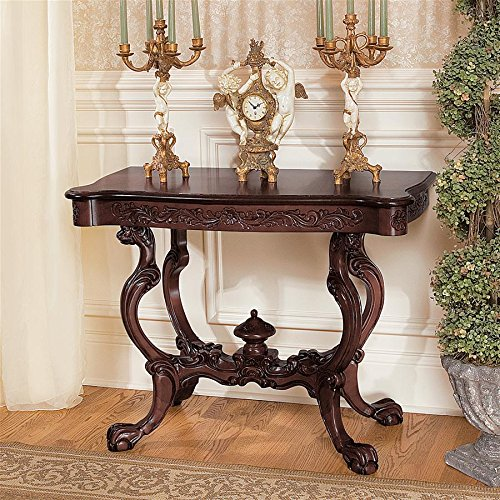 Acorn Classic Finial (Design Toscano Topsham Manor Console Table)