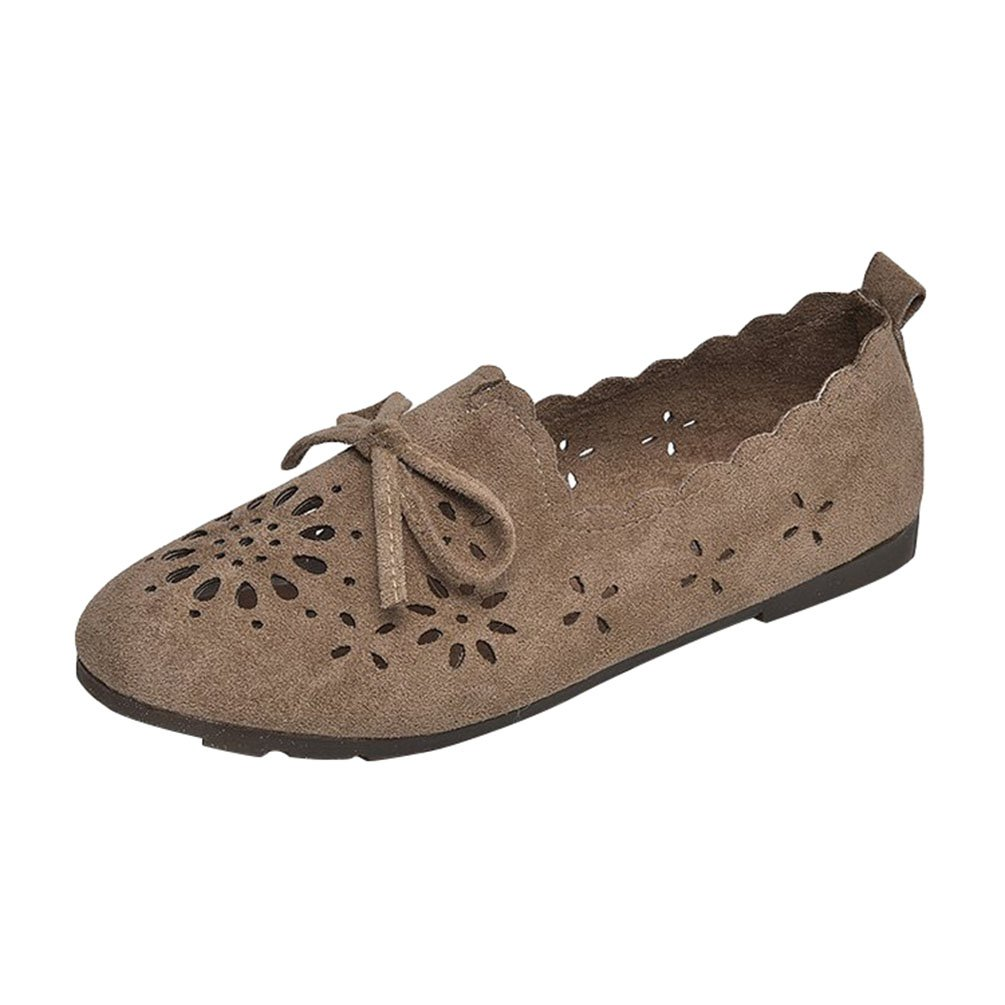 Anguang Loafers Femmes Confort Mocassins Plat Mocassins Slippers Chaussure Conduite Conduite Slip on Loafers Chameau#2 73ff217 - boatplans.space