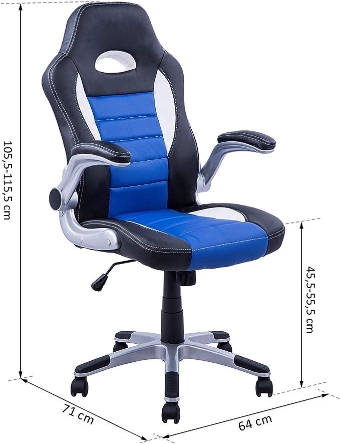 Chaisefauteuil de bureau pivotante hauteur réglable surface