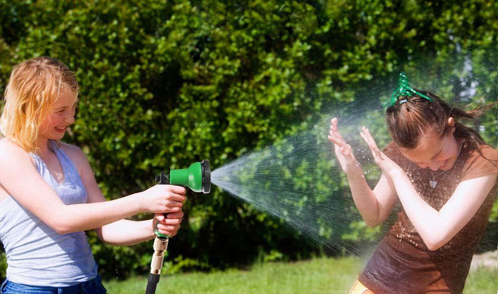 8 Patrones de Agua de Alta presi/ón Ajustables para regar Plantas HOMOZE Juego de boquillas de Manguera de jard/ín Lavar el Coche y ducharse Perros y Mascotas