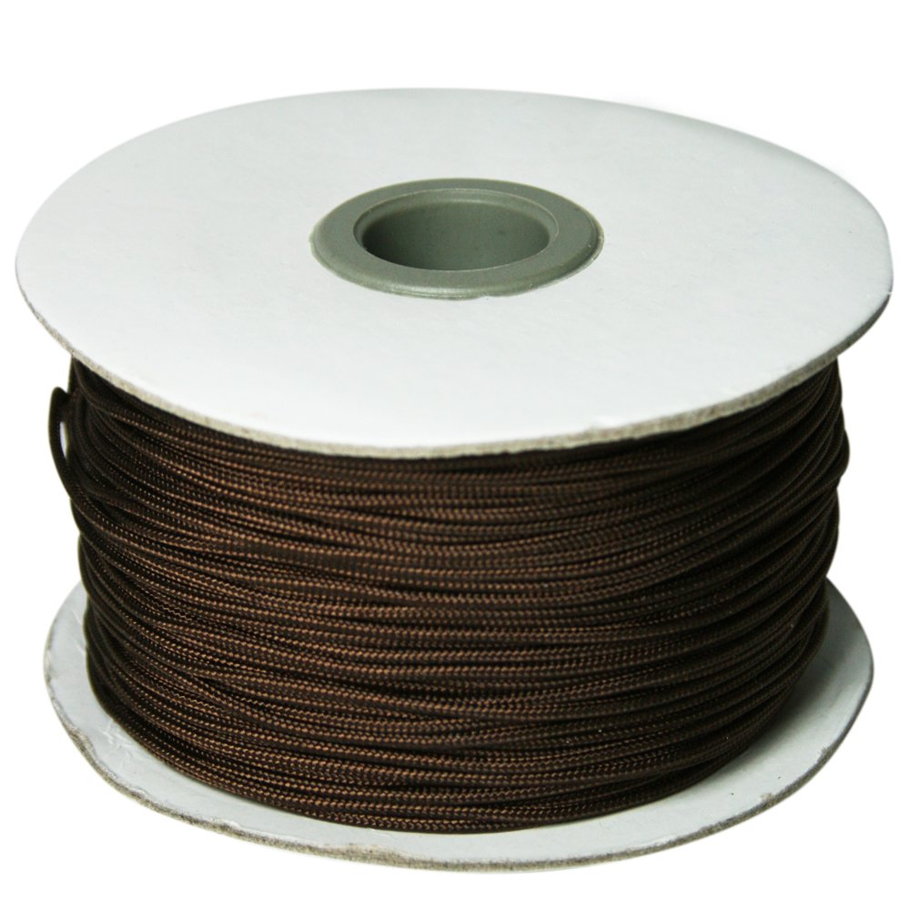 Roman Shade Lift Cord 1.4 Mm Cord 100 Yds - Color Dark Brown Home Sewing Depot 649274003