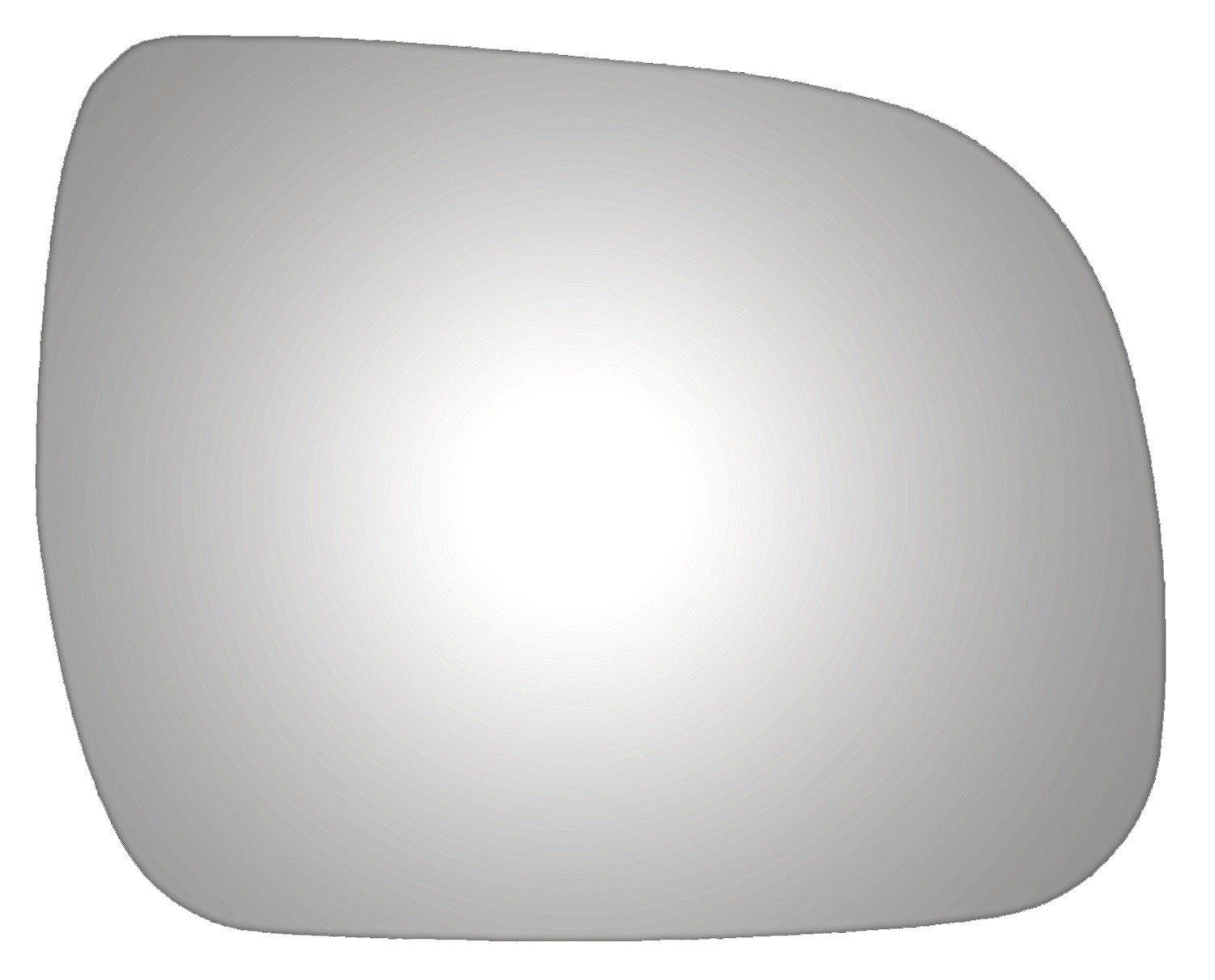 Mirrex 83689 Fits Toyota Highlander Tacoma Vin starts with 1,4 or 5 Glass Only Right Passenger Side Replacement Mirror Glass for 2010 2011 2012 2013 2014 2015 Adhesive//Installation Inst Included