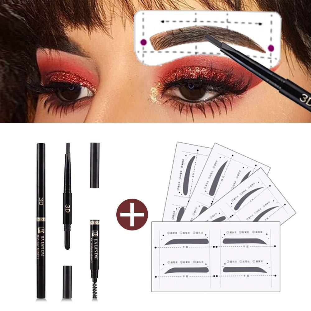 Amazon Eyebrow Stencil Shaper With 3 In 1 Eyebrow Pencil