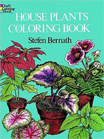 Book House Plants Coloring Book (Colouring Books)