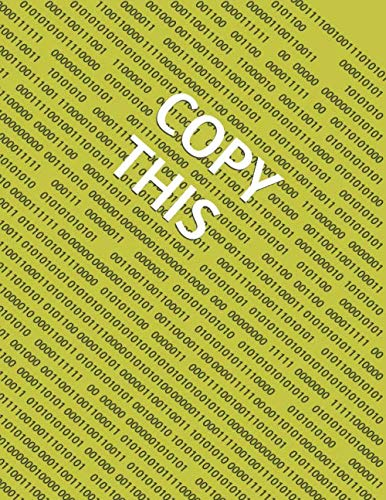 Copy This (Creativity Workbook)