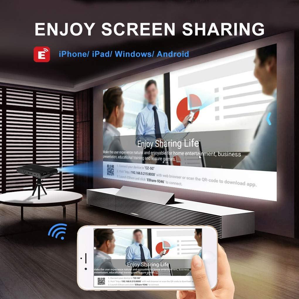 Sunlera - Proyector Home 4K HD 2G + 16G WiFi 2.4G / 5G AC ...