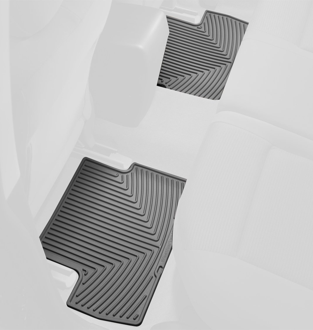 Rubber Front//Rear WeatherTech WTHG065149 Floor Mat