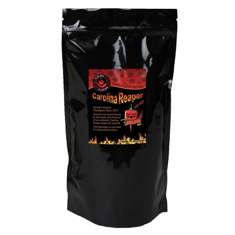 Carolina Reaper Pepper Powder | Extremely Hot Ground Carolina Reaper Peppers (1lb /16oz)