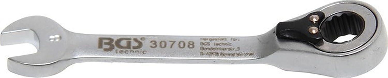 11 mm, kurz BGS 30711 Ratschenring-Maulschl/üssel