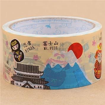Amazon.com: Big Crema Maiko de Samurai Ninja Deco cinta 25 m ...