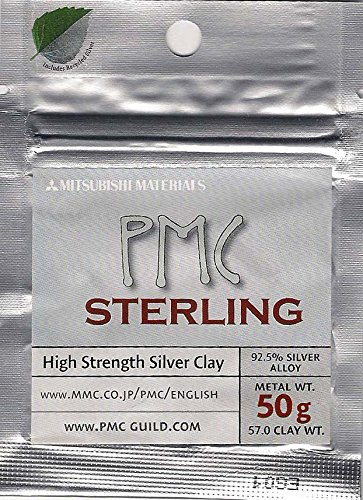 PMC Sterling Silver Clay - 50 Grams by PMC