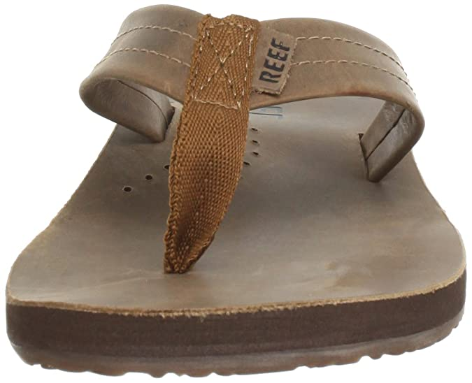 b6e719616800 Amazon.com  Reef Mens Leather Sandals Draftsmen