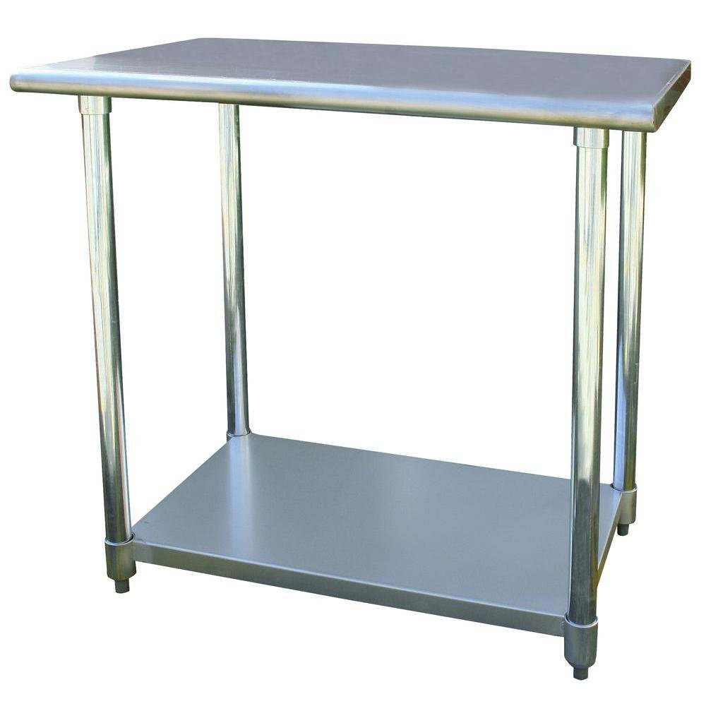 24'' x 36'' Stainless Steel Utility Work Table