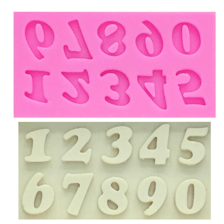 Molde de silicona para tartas M0179, diseño de letras y ...