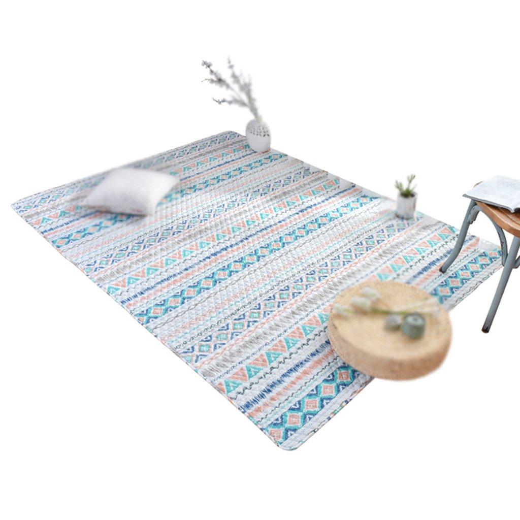 Cotton Geometric Pattern Household Tatami Crawling mat Machine Washable Washable