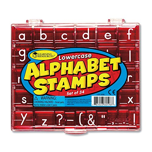 (Learning Resources Lowercase Alphabet Stamps)