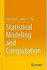 Statistical Modeling and Computation Kindle Edition