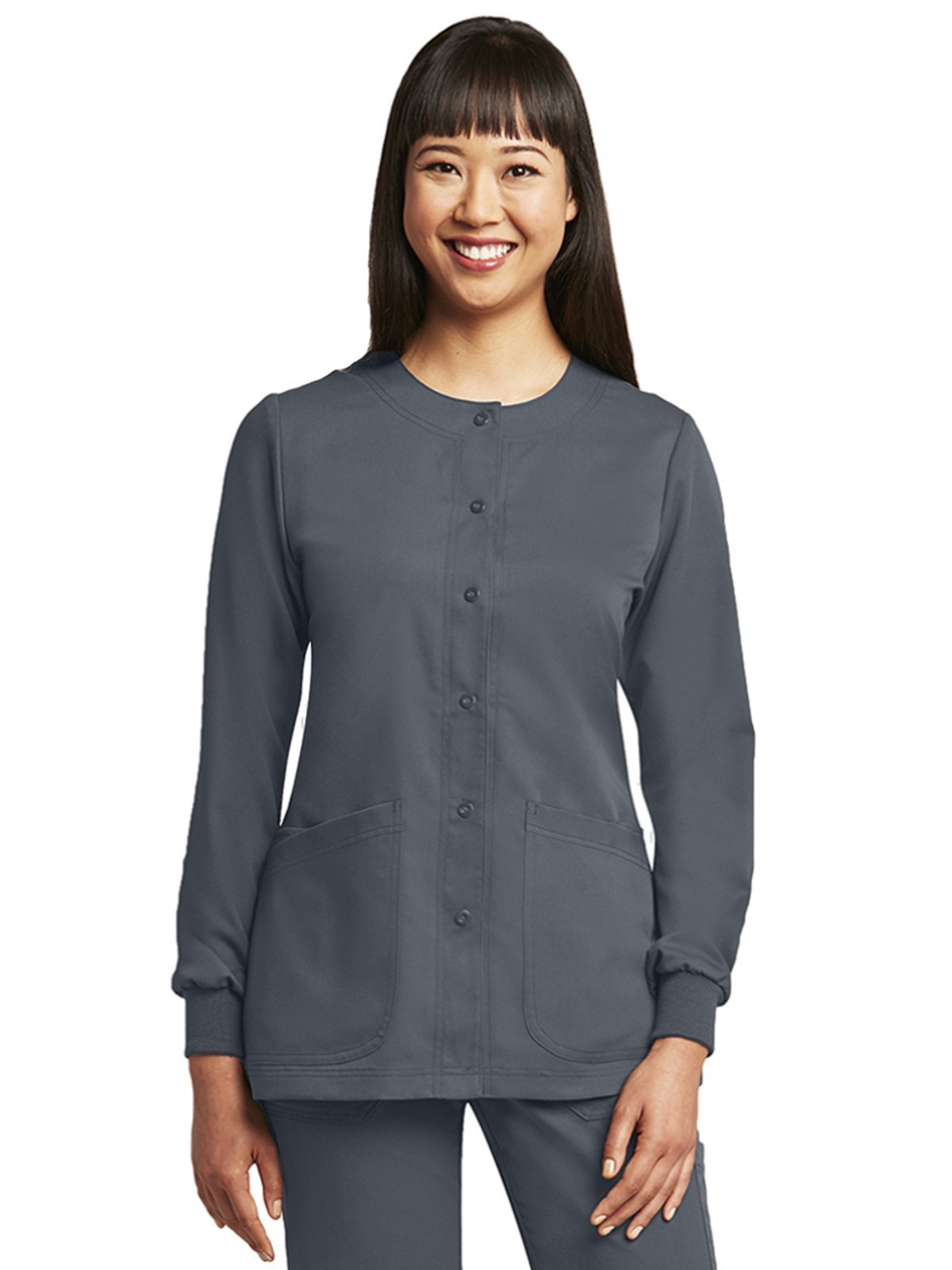 Grey's Anatomy 4450 Warm-up Jacket Granite S