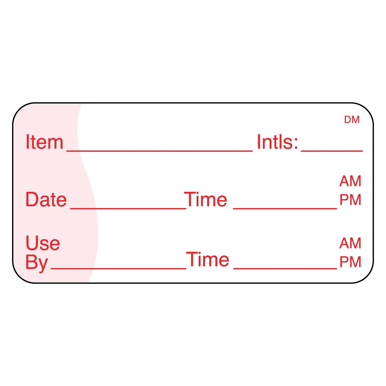 DayMark Safety Systems-IT110105 Use by Dissolvable Label, 1