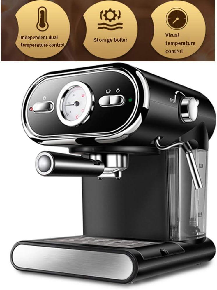 XiXia X Cafetera con Boquilla de Espuma de Leche para Filtro molido Cafetera de café con portafiltro Apagado automático Antigoteo: Amazon.es: Productos para mascotas