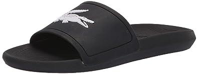 cb029c469 Amazon.com  Lacoste Men s Croco Slide Sandal  Shoes