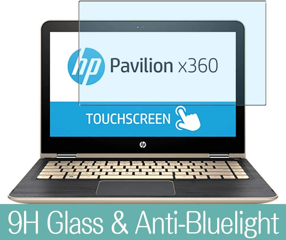 """Synvy Anti Blue Light Tempered Glass Screen Protector for HP Pavilion x360 13-u100 / u180tu / u131tu / u151tu / u164tu / u104tu / u170tu / u163nr / u175tu 13.3"""" Visible Area Film Protectors"""