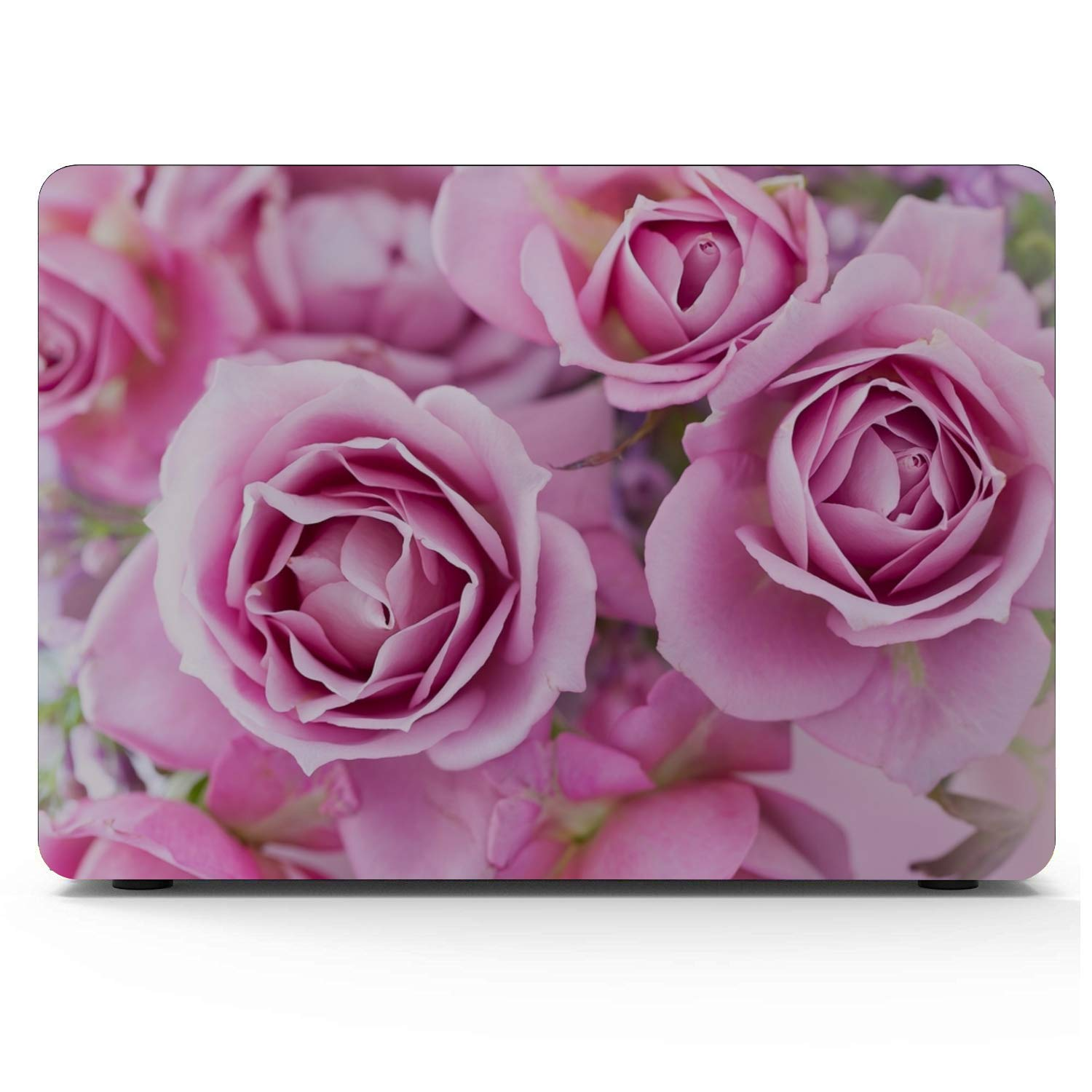 Mac 13 Inch Case Spring Beautiful Pink Flower Fragrant Plastic Hard Shell Compatible Mac Air 11 Pro 13 15 MacBook Air Laptop Cover Protection for MacBook 2016-2019 Version