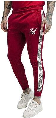 Sik Silk Pantalones Cuffed Runner Rojo: Amazon.es: Zapatos y ...